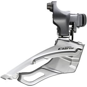 Shimano Claris FD-R2000 - Dérailleur avant - 2x8 vitesses Down Swing collier haut gris/argent